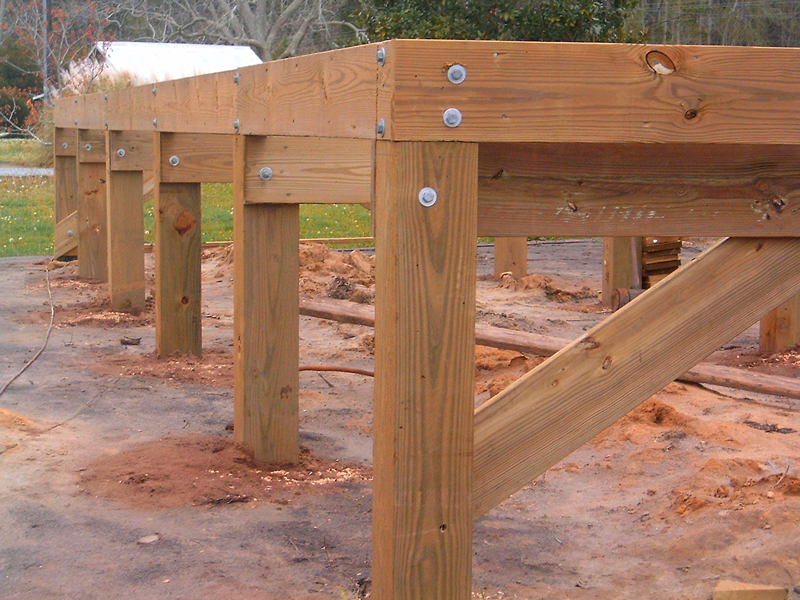 Marine construction custom docks seawalls marinas for Foundation pilings